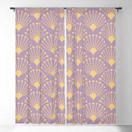 Vintage Art Deco pattern- Pastel dot dot dot Blackout Curtain