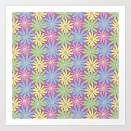 Daiseez-Coolio Colors Art Print