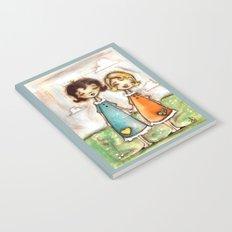 A Childhood Shared - Sister Art Notebook