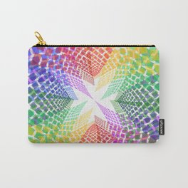 Colorful mosaic pattern design Carry-All Pouch