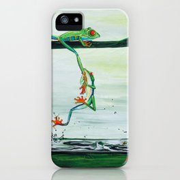 Don't Fall iPhone Case