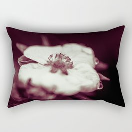 tearful flower Rectangular Pillow