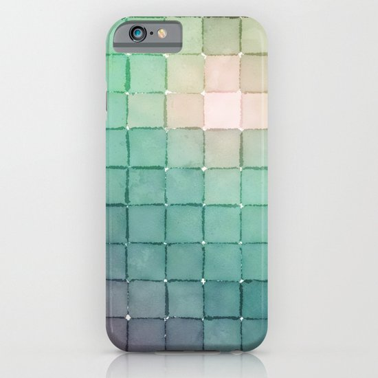 Polaroid Pixels VIII (Glow) iPhone & iPod Case