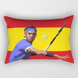 Rafael Nadal | Tennis Rectangular Pillow