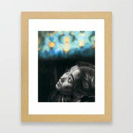 Fading In Framed Art Print
