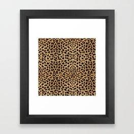 Cheetah Print Framed Art Print