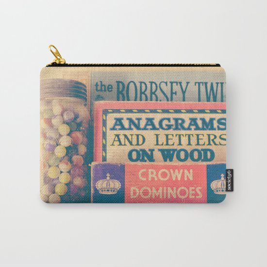 Vintage Toys Carry-All Pouch