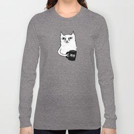 Tired Cat Long Sleeve T-shirt