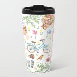 Eco city style Metal Travel Mug