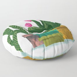 Plant Pots Floor Pillow