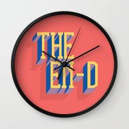 The En-d Wall Clock