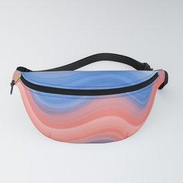 Ocean Wave Pattern- Art Print Fanny Pack