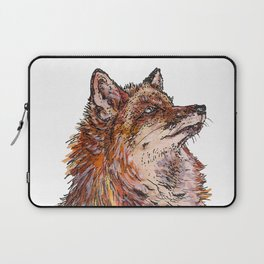 Fox in snow Laptop Sleeve