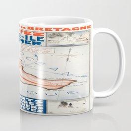 Vintage poster - Belle ile en Mer Coffee Mug