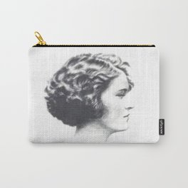 A portrait of Zelda Fitzgerald Carry-All Pouch