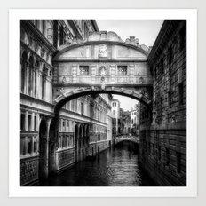 Ponte dei Sospiri | Bridge of Sighs - Venice  Art Print