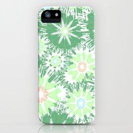 Vintage Green Garden Love iPhone Case