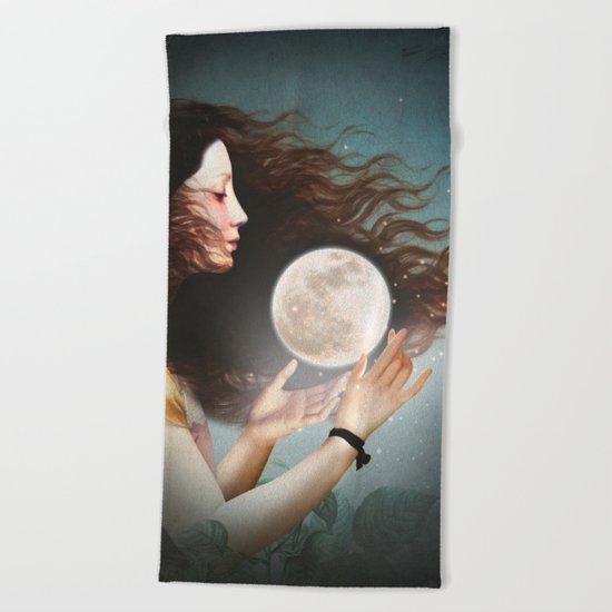 Meet the Moon Beach Towel