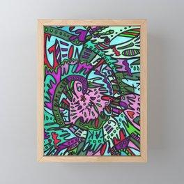 Take Everything I Dare You (Tropical) Framed Mini Art Print