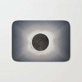 Total Eclipse by  OLena Art Bath Mat