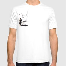 Lost Mens Fitted Tee SMALL White