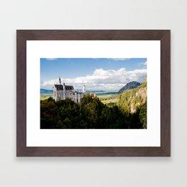 Magic castle Framed Art Print