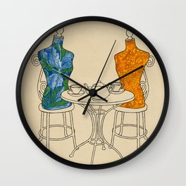 High Tea Wall Clock