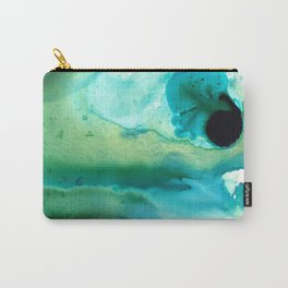 Peaceful Understanding - Abstract Art By Sharon Cummings Carry-All Pouch