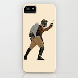 Rocket-Lord iPhone Case