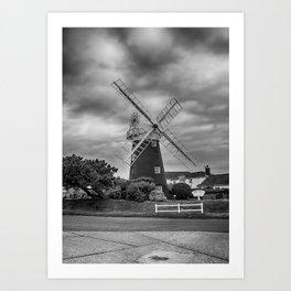 Stow Mill Art Print