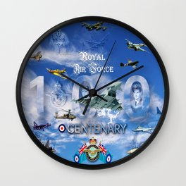 FUSION OF FLIGHT Wall Clock