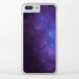 Arctic Fox (color version II.) Clear iPhone Case
