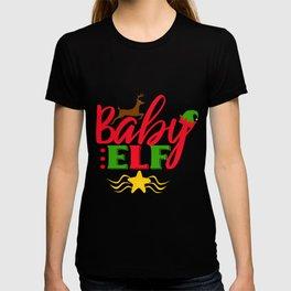 Baby Elf christmas Short sleeve T-shirt