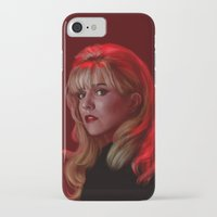 laura palmer iPhone & iPod Cases featuring Laura Palmer from Twin Peaks by Annike