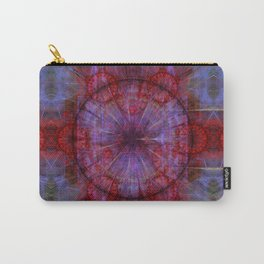 Movement in time mandala, fractal abstract Carry-All Pouch