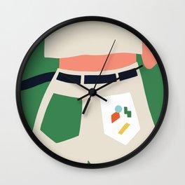 Watcha hiding girl? Wall Clock