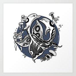 Aquaillum Art Print
