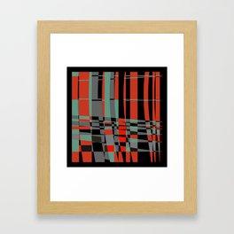 urban. 3 Framed Art Print