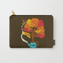 Tea Leaves Carry-All Pouch