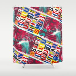 These Suuns Be Armed For Peace Shower Curtain