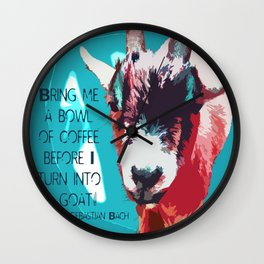 Goatee Wall Clock