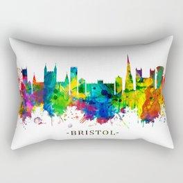 Bristol England skyline Rectangular Pillow