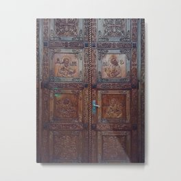 Open A New Door Photography Metal Print
