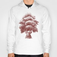 thrones Hoodies featuring Old Growth  by Terry Fan