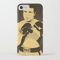 ali gulec iPhone & iPod Cases featuring Ali by Renan Lacerda