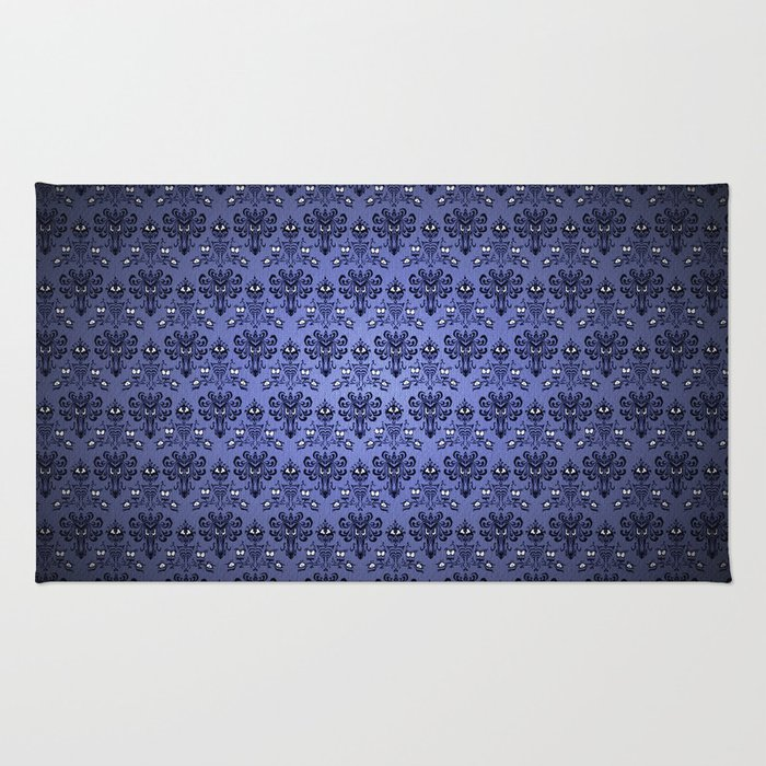 Beauty Haunted Mansion Wallpaper Stretching Room Rug