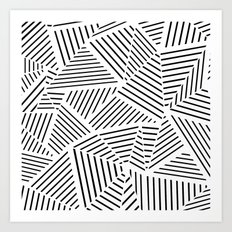 Ab Linear Zoom W Art Print