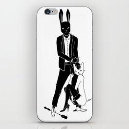 Mr Bunny is cruel iPhone Skin