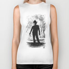 One, Two, Freddy's Coming For You Biker Tank