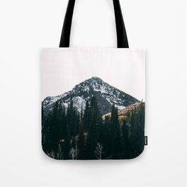 Winter On Its Way Tote Bag